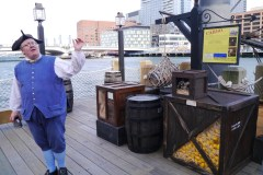 Lebendes Museum von der Boston Tea Party